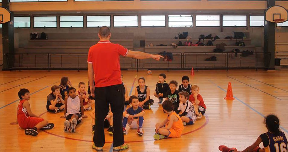 Ecole de basket bec